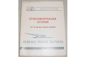 Cessna SP-100A Synchrophaser System Service and Parts Manual
