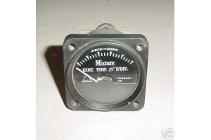 Aircraft Mixture Control Temperature Indicator, 181048
