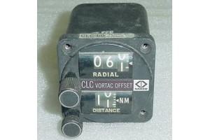 CNI107A, Narco CLC-60 Vortac Offset Control Panel
