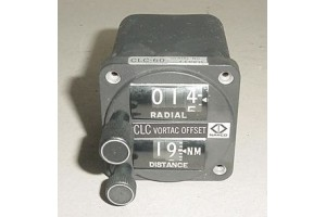 NEW!! Narco CLC-60 Vortac Offset Selector Panel, CNI107A