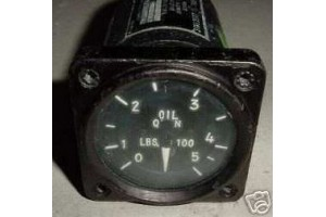 8DJ44AAS0-4, 8DJ44AAS04, USAF Warbird Jet Oil Quantity Indicator