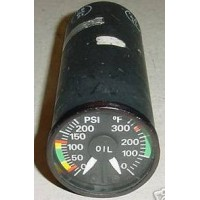 162CPT620, 162CPT, Turbine Oil Pressure, Temperature Indicator