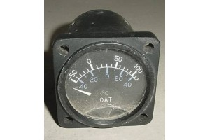 Cessna Outside Air Temperature Indicator, C668520-0101