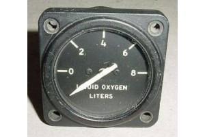 8DJ48KAB-2, U.S.A.F Warbird Jet Liquid Oxygen Quantity Indicator