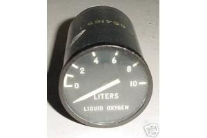U.S.A.F. Warbird Jet Liquid Oxygen Quantity Indicator, EA711P-6