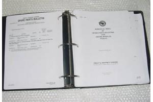 Pratt & Whitney PT6A-28 Spare Parts Bulletin Manual