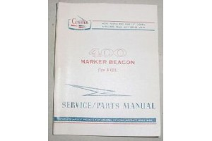 R-402A Cessna 400 Series Marker Beacon Service and Parts Manual