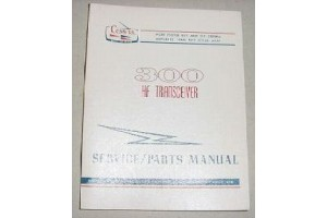 Cessna 300 HF Tranceiver Service and Parts Manual