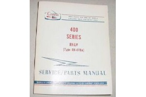 Aircraft Cessna 400 Series RN-478A  RNAV Service n Parts Manual