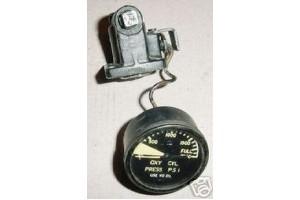 Aircraft Oxygen Tank Cylinder Pressure Indicator