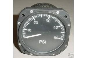 Cessna 0-50 PSI Pressure Indicator, 825-01