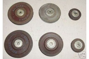 Lot of Cessna, Piper, Beech Aircraft Phenolic Pulleys