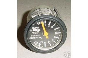 Bonzer Mini-Mark Terra Radar Altimeter Indicator