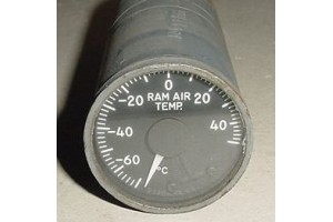 162BL502, Aircraft Ram Air Temperature Indicator