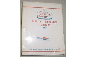 1965 Cessna Service Information Summary Manual