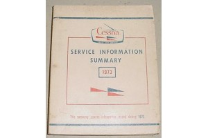 1973 Cessna Service Information Summary Manual