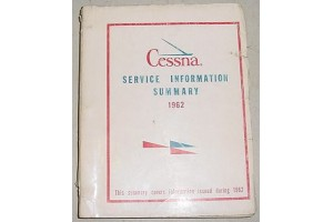 1962 Cessna Service Information Summary Manual