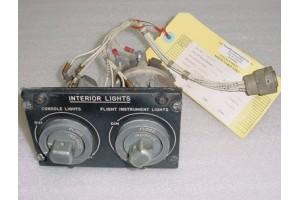 277-540152-11, 277540152-11, Sabreliner Lights Control Panel