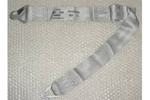NEW!! Aircraft Silver Seat Belt Shoulder Harness, 1101440-07