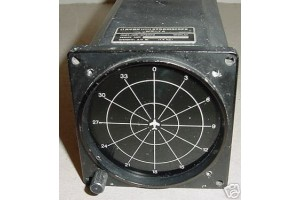 278D02, Ryan WX-7A, Aircraft Stormscope Display Indicator