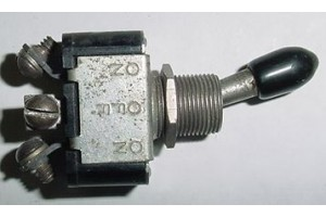 8800K13, AN3021-1, Three Position Aircraft Toggle Switch