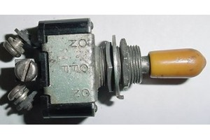 AN3021-1, 8800K13, Three Position Aircraft Toggle Switch