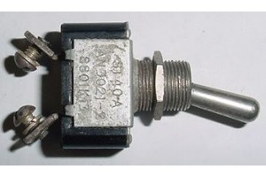 8801K13, AN3021-2, Two Position Aircraft Toggle Switch
