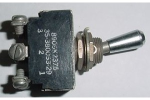 8906K2375, 35-380053-29, Beech Bonanza Aircraft Toggle Switch