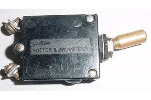 35-380132-9, 548-230-105, Beech Bonanza Circuit Breaker Switch