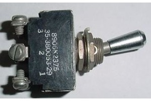 35-380053-29, 8906K2375, Beech Bonanza Aircraft Toggle Switch