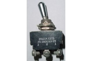35-380053-29, 512TS1203-10, Beech Bonanza Aircraft Toggle Switch