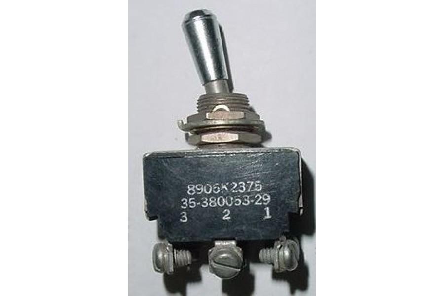 35-380053-29, 512TS1203-10, Beech Bonanza Aircraft Toggle Switch
