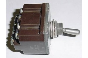 MS27406-1, 8502K15, Three Position Aircraft Toggle Switch