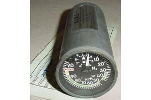Boeing 737 Electric Tach Percent Indicator w Serv Tag, 8DJ81LYT
