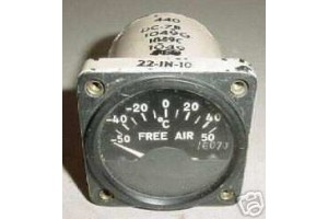 34270YF, 34270, United Airlines DC-7 Temperature Indicator
