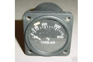 Cessna 310, Carburetor Temperature Indicator, 22-297-026