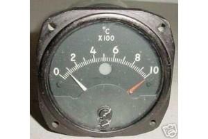Grumman F9F Panther, Cougar Temperature Indicator, 124B101A