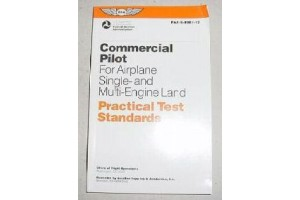 FAA-S-8081-12, 8081-12, Commercial Pilot Practical Test Booklet