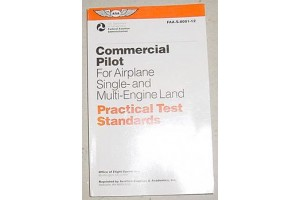 FAA Commercial Pilot Airplane Practical Test Standards Booklet