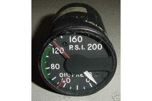Aircraft Turbine Engine Oil Pressure Indicator, 296-00751