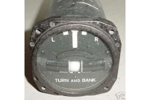 28W2-A2A, R.C. Allen 28V Electric Turn Bank Indicator