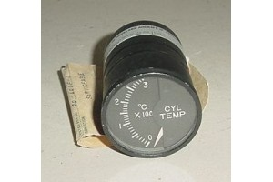 Aircraft Cylinder Temperature Indicator w Serv tag, 147R32B