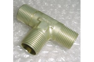 MS21905D10, New Aircraft Flareless Tube Tee Fitting