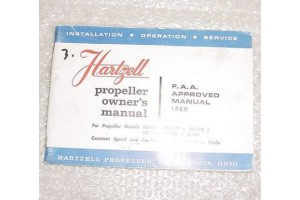 106D, Hartzell HC Series Propeller Owner Manual