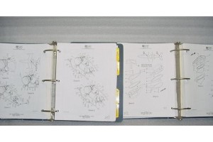 Learjet 24 Aircraft Illustrated Parts Catalog