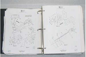 Learjet 25 Series Aircraft Illustrated Parts Catalog