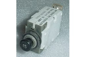 MP-704H, MS25244-15, 15A Mechanical Products Circuit Breaker