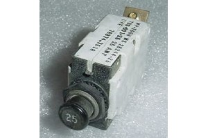 MP-706H, MS25244-25, 25A Mechanical Products Circuit Breaker