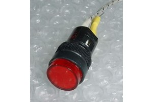 AP6M, 6220-01-346-6006, Aircraft 24V Red Cockpit Indicator Light