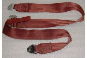 Aircraft Seat Belt Shoulder Harness Strap, Maroon color